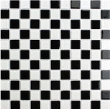DecorationのためのClassic Black and White Mixed Glass Mosaic Tile