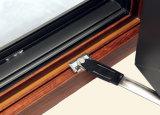 Guichet en aluminium de tissu pour rideaux de profil d'interruption thermique colorée de qualité avec le blocage multi K03029