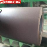 China Prepainted o enrugamento galvanizado PPGI da bobina da chapa de aço