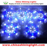 Sneeuwvlok 6PCS per het Vastgestelde LEIDENE Lichte Gebruik van de Decoratie voor de Vakantie van de Partij van Kerstmis