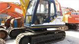 Máquina escavadora usada de Kobelco Sk120-3, máquina escavadora hidráulica usada da esteira rolante