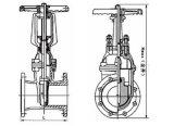 O parafuso cifra a válvula de porta macia Jmz15X-16q da selagem (DN15~DN50)