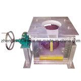Vuelco Manual de metal de tamaño pequeño horno de fundición de inducción