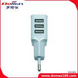 Mobiele Toebehoren 3 USB van de Telefoon de Draagbare Lader van de Micro- Muur van de Reis