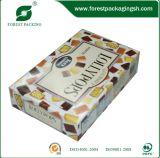 Carton d'Ivoire avec boîte de papier de l'impression