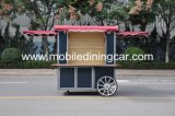 غلّة كرم يد يدفع طعام عربة عمليّة بيع حارّ