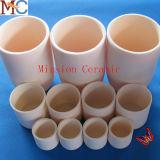 Crogiolo di ceramica Al2O3 dell'allumina di superficie Polished