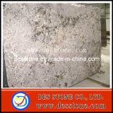 Losa clásica del granito de Giallo de la encimera de piedra natural