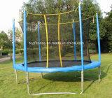 base rotonda esterna del trampolino dei capretti di 14FT con la rete di sicurezza