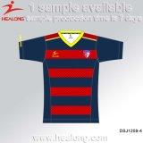 Healong uniformes de futebol de sublimação de vestuário para a equipa de futebol Jersey