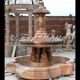 Fontein van het Beeldhouwwerk van de zonsondergang de Rode voor Decoratie mf-153 van het Huis