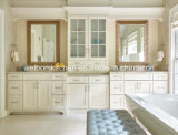 Festes Holz-Fußboden-stehende Badezimmer-Eitelkeit