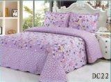 100%年の綿のパッチワークキルト3PCS及び4組のPCSのベッドの設定のパッチワークポリエステル寝具セット