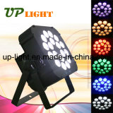 Stage Nouveau 18PCS 18W Rgbwauv 6in1 Flat LED PAR Light