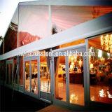 La pagode de luxe à portée libre fête de mariage de haute qualité châssis en aluminium à bas prix transparent de Mariage Mariage tente de renom de la publicité