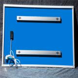 赤外線暖房のパネルを取付ける安全および健全な壁