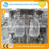 Équipement de remplissage d'eau minérale monobloc pour bouteille d'animaux de compagnie de 5 litres