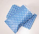 Мешок обслуживания бумаги украшения дела многоточий сини
