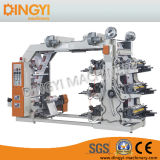 Sechs Farben-flexographische Drucken-Maschine (DY-6800)