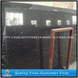 Черное зеркало/кварц Sparkles искусственний для Countertop сляба плитки