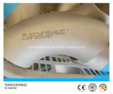 Cotovelo apropriado do aço En10253-4 1.4404 316 inoxidável