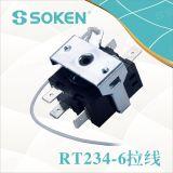 팬 (RT234-6)를 위한 7개의 위치 로터리 스위치