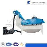 Sistema di riciclaggio della sabbia con la pompa ad alta pressione