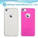El caso de cambio de color decoloración de la ultravioleta para el iPhone 7