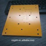 Placa de papel Phenolic do PWB do material de folha da baquelite para o isolador com certificação do ISO