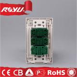 Universalqualitäts-Wand-Schalter-Kontaktbuchse der Leistungs-220V