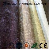 Couro sintético do PVC do couro da prova da água para o sofá e a mobília