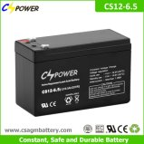 Batterie profonde du cycle AGM de Cspower 12V 6.5ah pour UPS, jouet électronique