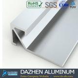L'alluminio di alluminio del testo fisso delle mattonelle ha anodizzato il profilo personalizzato