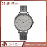 Lady Stainless Steel Wrist Watch with Mineral Glass