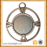 De antieke Brons Geplateerde Medaille van de Herinnering van het Afgietsel van de Matrijs