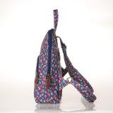 Sac floral de sac à dos de configurations de toile imperméable à l'eau de PVC (23261-1)