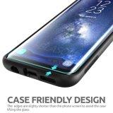 Erstklassiger Rand-zu-Rand Deckungs-ausgeglichenes Glas-Bildschirm-Schoner für Samsung-Galaxie S8 plus