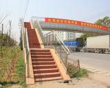 Edificio industrial de la estructura de acero del diseño prefabricado de la construcción
