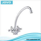 Cuisine simple Mixer&Faucet Jv74008 de traitement de corps de zinc
