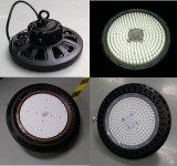 Luz elevada certificada RoHS 200W do louro do diodo emissor de luz do UFO 140lm/W do Ce