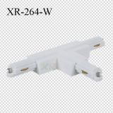 Conetor da T-Forma da trilha da iluminação do diodo emissor de luz dos fios do material 2 do PC (XR-264)