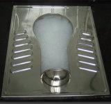 Einfache zusammengebaute vorfabrizierte Stahlrahmen-Behälter-Toilette