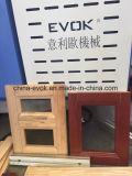 Mortasare di legno di alta precisione e fresatrice del tenone per il portello di legno e finestra che fa Tc-828s4