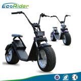 新しいお偉方1200W Ecorider Citycoco Harleyの電気スクーター