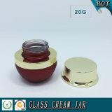20g farbiges Glasglas für Eyecream