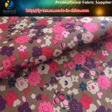 Tissu en tafet polyester 290t, tissu imprimé imprimé floral pour manteau