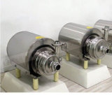 Bomba autocebante sanitaria / bomba de succión automática de acero inoxidable