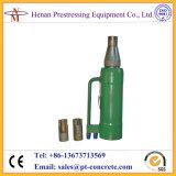 Qyc270 Pretensado hidráulico Monostrand Stressing Jack