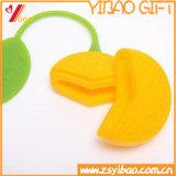 Mini bustina di tè del limone del silicone ecologico di figura