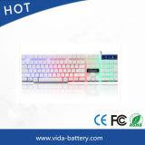 Mini PC USB Wired Computer Keyboard LED Mechanical Computer Backlit Waterproof Keyboard